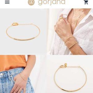 NWT Georgiana rose gold delicate bracelet